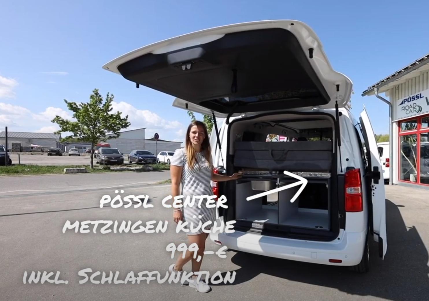 Pössl Center Metzingen - Küche für Campster inkl. Schlafunktion